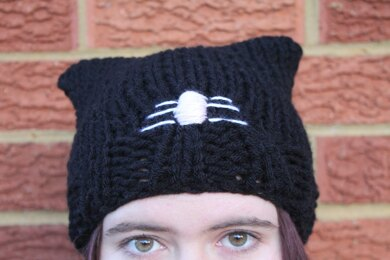 Knitted Cat Beanie