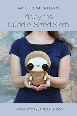 Cuddle-Sized Zippy the Sloth