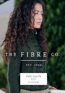 Kari Polo Neck Jumper in The Fibre Co. Cumbria - Downloadable PDF