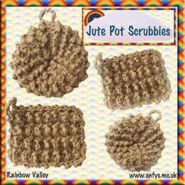 Jute Pot Scrubbies - US terms