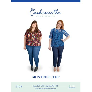 Cashmerette Montrose Top 2104 - Sewing Pattern