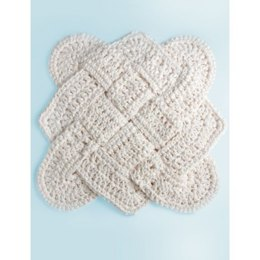 Sailor's Knot Dishcloth in Lily Sugar 'n Cream Solids