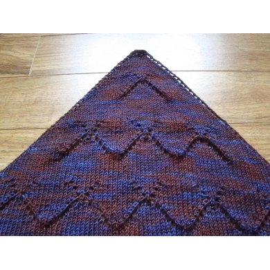 Abstract Butterfly Lace Shawl