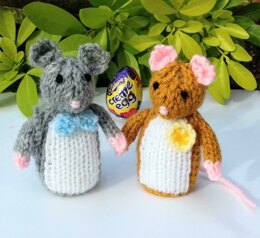 Town Mouse & Country Mouse - Easter Egg Covers