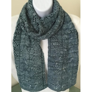 The Fiona Wide Scarf Or Wrap Knitting Pattern By Dm Designworks