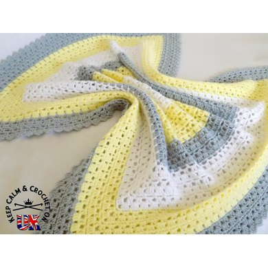Superbly Simple Baby Blanket Crochet pattern by Keep Calm and ...
