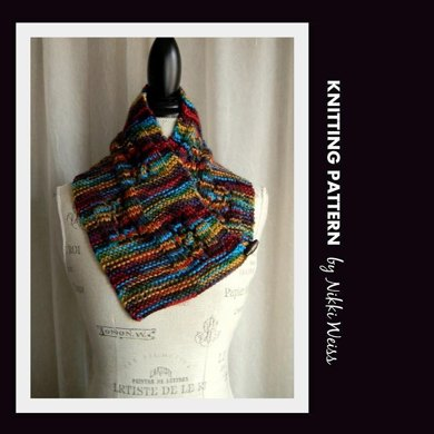 Impeccable Folklore Neckwarmer Scarf Knitting Pattern