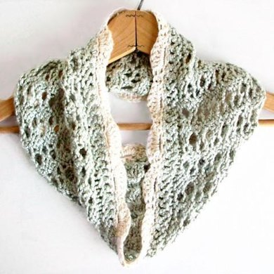 Vintage Romance Knitted Lace Cowl Knitting pattern by ...