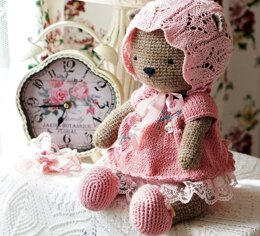 Shabby Chic Outfit for Teddy Bear