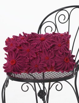 Petal Pillow in Patons Classic Wool Worsted