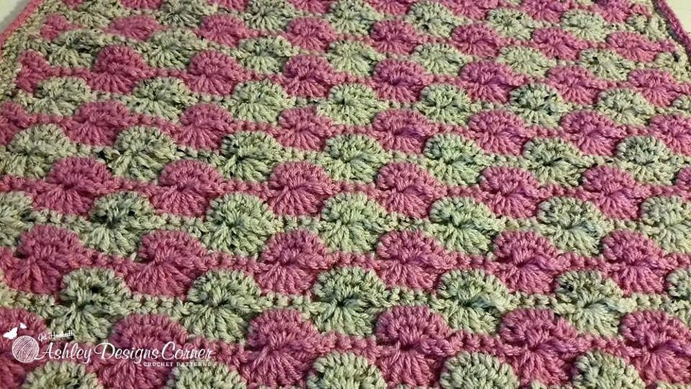 Perfect Pinwheel Blanket Crochet pattern by Ashley Leither ...