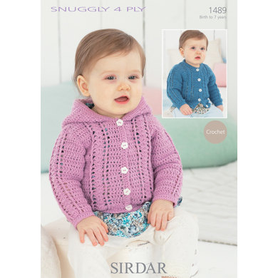 Sirdar Knitting Pattern Abbreviations : Cardigans in Sirdar Snuggly 4 ply 50g - 1489 - Downloadable PDF