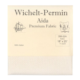 Wichelt 11 Count Aida 18in x 21in Pre Packaged Pre Cut