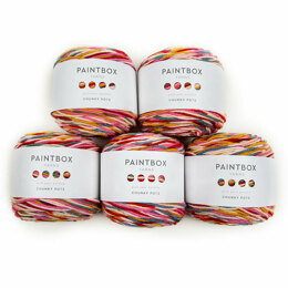 Paintbox Yarns Chunky Pots 5er Sparset