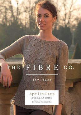 Rue St. Antoine Jumper in The Fibre Co. Luma - Downloadable PDF