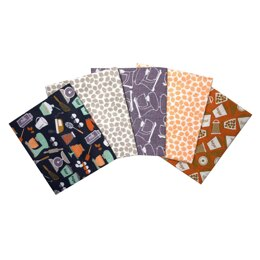 Visage Textiles Bake With Love Fat Quarter Bundle - Multi