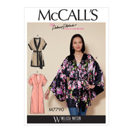McCall's Misses' Jacket and Belt M7790 - Sewing Pattern