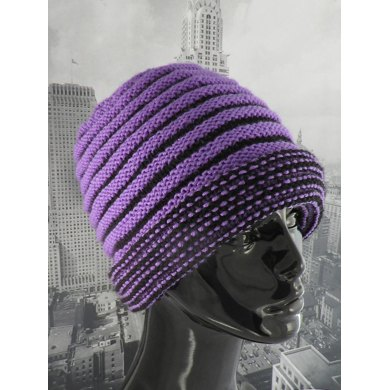 Reversible Double Cuff Beanie Hat