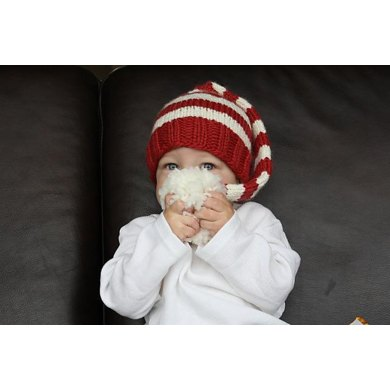Bulky Weight Holiday Knit Stocking Cap