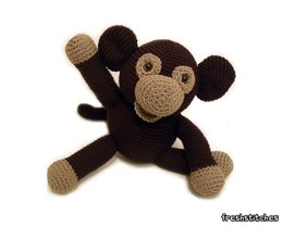 Amigurumi Owen the Monkey