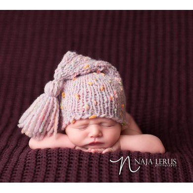 Baby Stocking Hat Stocking Cap Newborn Hat Knitting Pattern By