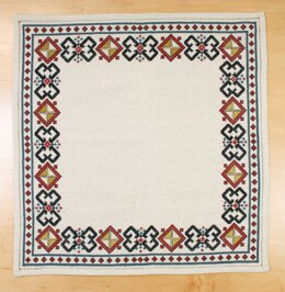 Avlea Folk Embroidery Roman Diamond Square - Downloadable PDF