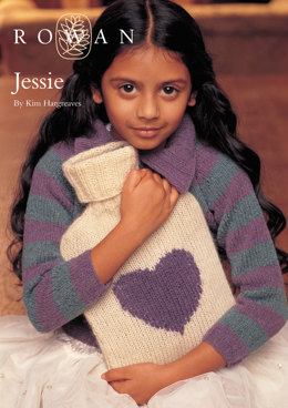 Jessie Hot Water Bottle Cover in Rowan Kid Classic