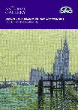 DMC The National Gallery - Monet - The Thames below Westminster