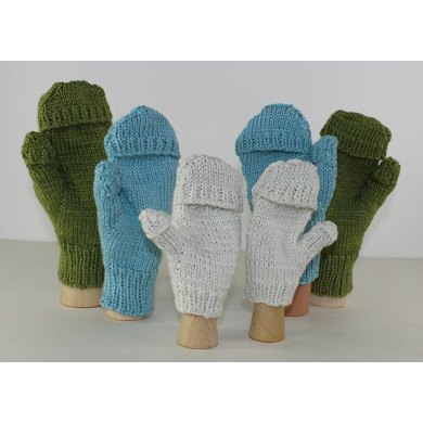 Knitting Pattern For Texting Mittens : Aran Texting Mittens Knitting pattern by madmonkeyknits