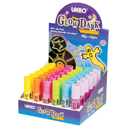 Leeho Glow in The Dark Fabric and Craft Paint Pens - Pack of 6