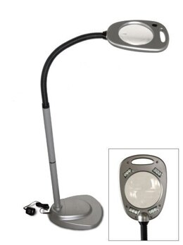 Mighty Bright 12 LED Floor Light and Magnifier