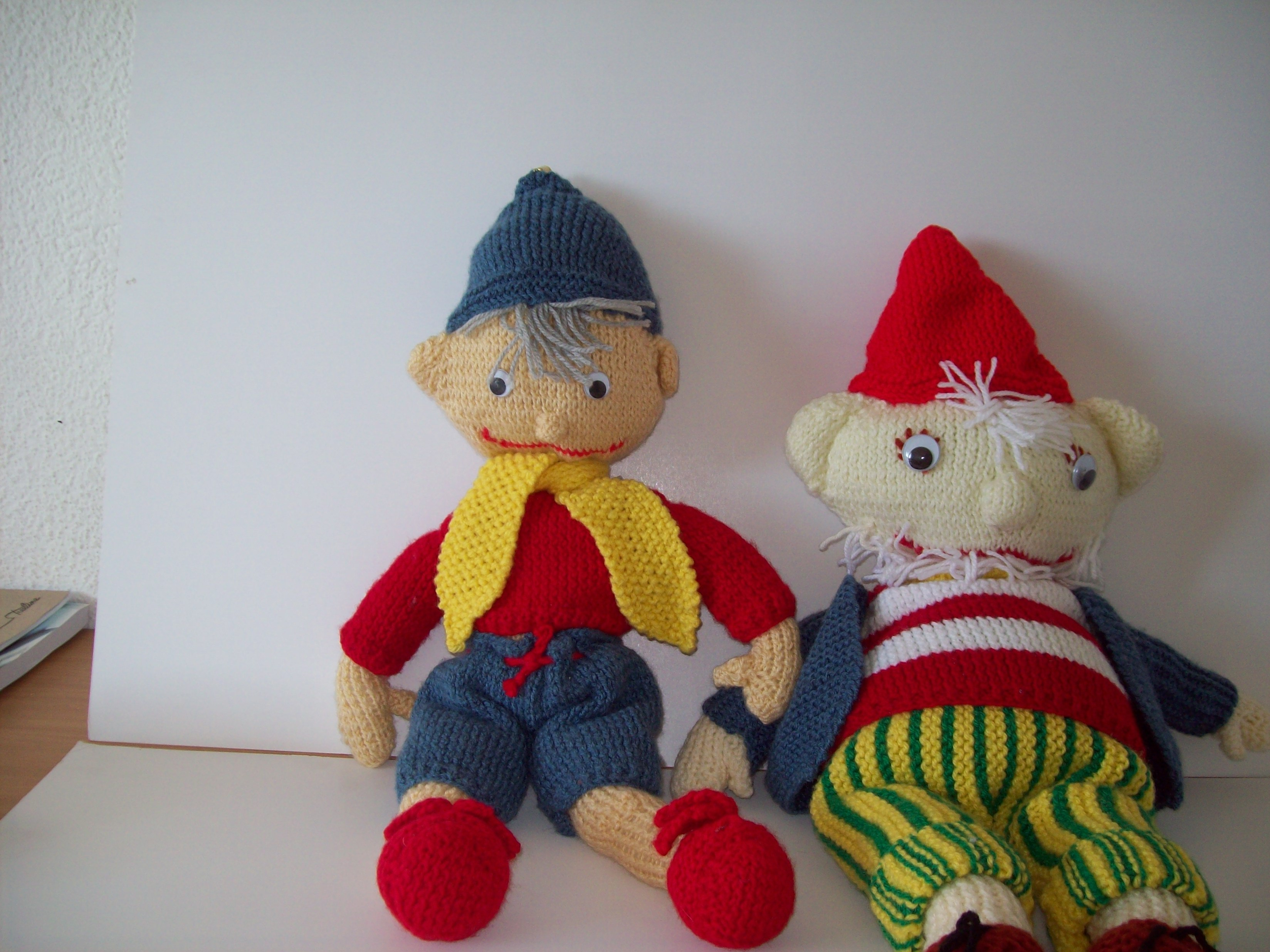 Noddy and big ears knitting project by Mari B LoveKnitting