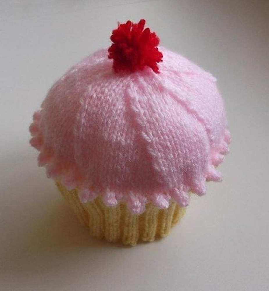 Cupcake hat 2 styles from birth to 4 years knitting pattern zoom bankloansurffo Image collections