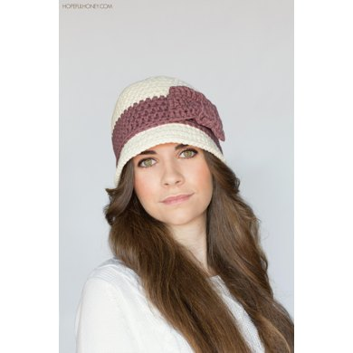 Downton Abbey Inspired Cloche Hat