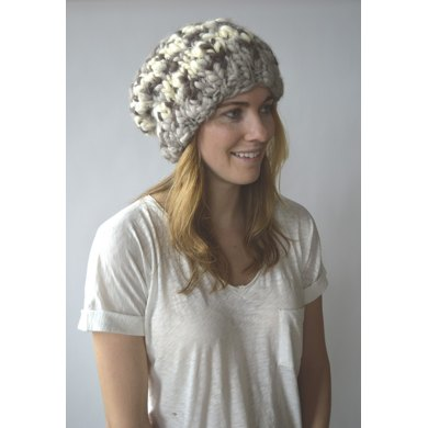 Mountain Girl Beanie in Knit Collage Sister Yarn