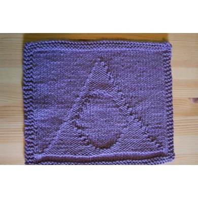 Al Anon Washcloth Knitting Pattern By Bunny Totem Knits