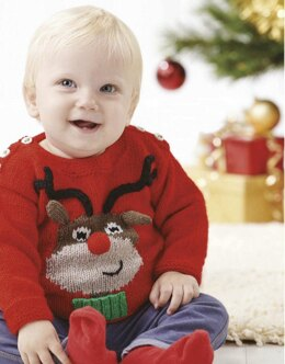 Little Rudolph Sweater