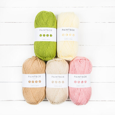 Paintbox Yarns Simply Aran 5 Ball Color Pack Designer Picks