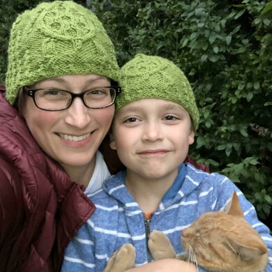 Cabled Sea Turtle Beanie