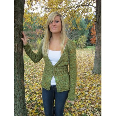 Autumn Foliage Cardi-Coat
