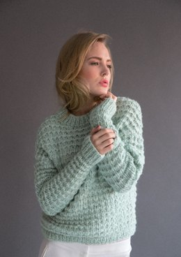 Sweater and Scarf in Rico Fashion Big Mohair Super Chunky - 364 - Downloadable PDF