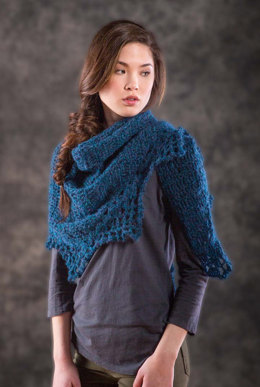 Thornton Shawl in Berroco Briza - 361-1 - Downloadable PDF