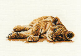 DMC Mischief 14 Count Cross Stitch Kit - 20cm x 10cm