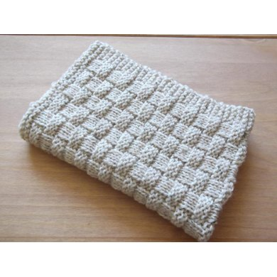 Quick And Easy Basket Weave Baby Blanket Knitting Pattern By Daisy