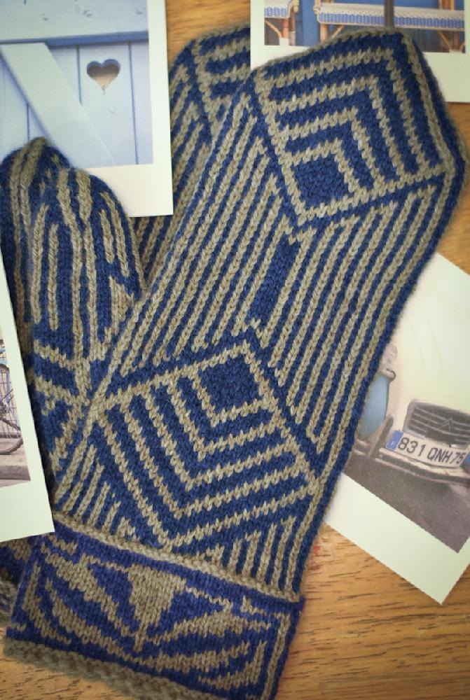 Knitting Pattern For Age : Jazz Age Mittens Knitting pattern by Elizabeth Elliott Knitting Patterns ...