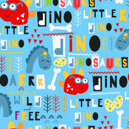 Craft Cotton Company Little Dino - Shapes