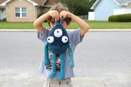 Triclops the Crochet Mandala Monster
