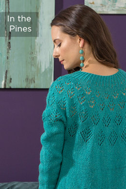 In The Pines Pullover in Universal Yarn Finn - Downloadable PDF