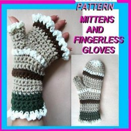 Mittens or Fingerless Gloves PDF 188 by Ashton11