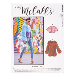 McCall's #GinaMcCalls - Misses' Jackets M8049 - Sewing Pattern